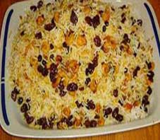 Iranian food , Meigoo Polow