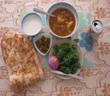 Iranian food , Aabgoosht