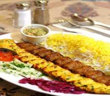 Iranian food , kabab koobideh