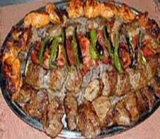 Iranian food , Taas kabab