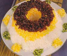 Iranian food , Zereshk Polow